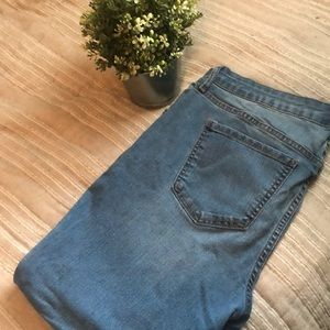 Women's Old Navy Super Skinny Mid Rise Blue Jeans